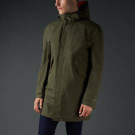Khaki  Waterproof Parka