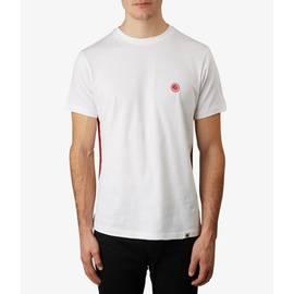 White  Side Stripe T-Shirt