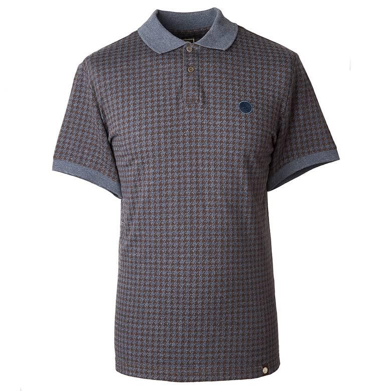 Mens Jacquard Polo Shirt
