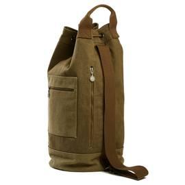 Khaki  Canvas Duffle Bag