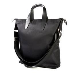 Black Paisley Jacquard Tote Bag