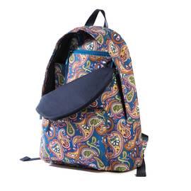 Vintage Paisley  Nylon Paisley Print Backpack
