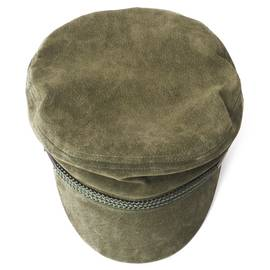 Khaki  Suede Hat