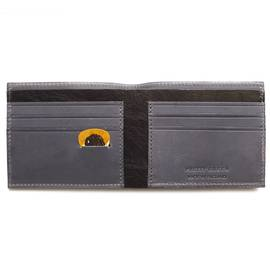 Dark Grey  Logo Bi Fold Wallet