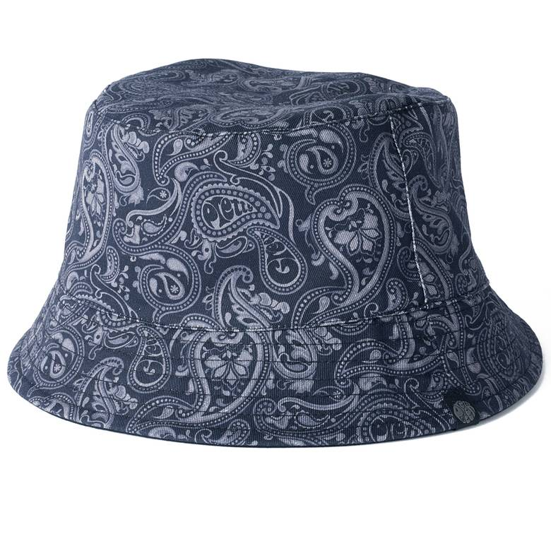 Mens Reversible Paisley Print Bucket Hat 49546930b9de