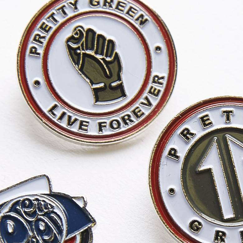 5 Pack Pin Badge Gift Set