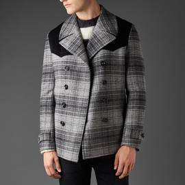 Charcoal  Wool Double Breasted Jacket