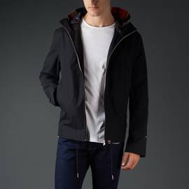 Black  Waterproof Hooded Jacket