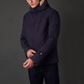 Navy  Waterproof Hooded Jacket