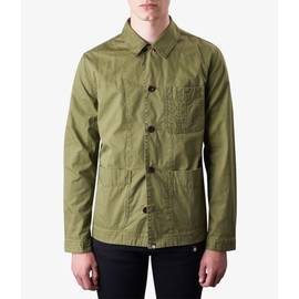 Khaki  Cotton Button Up Jacket
