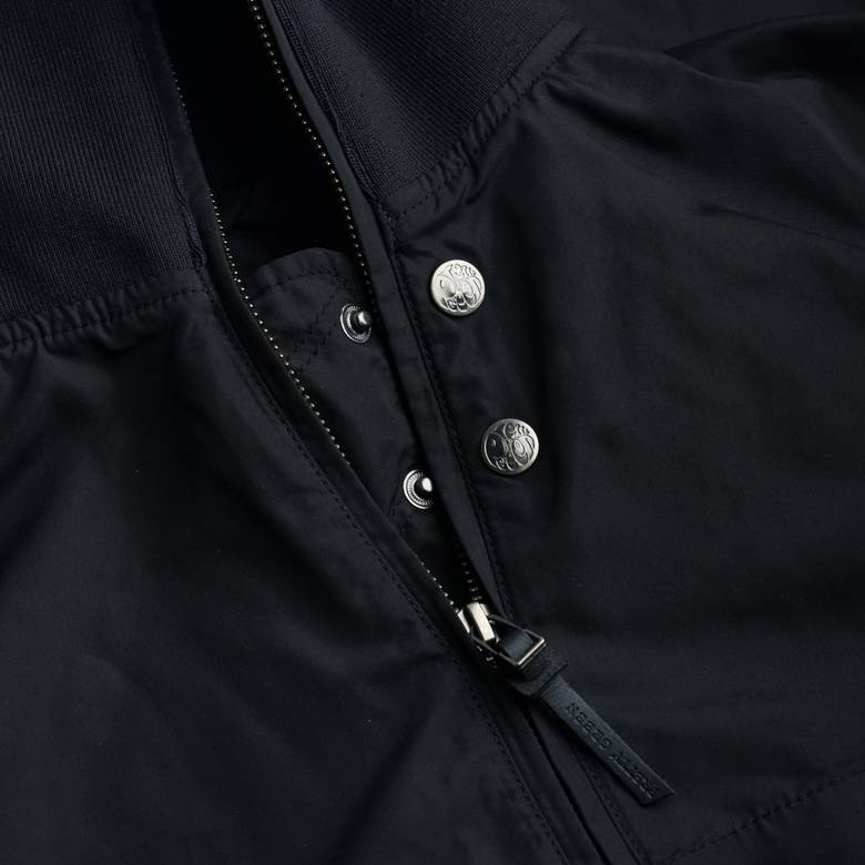 Mens Zip Up Funnel Neck Parka