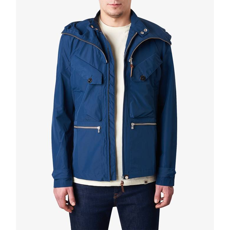 Mens Water Resistant Hooded Jacket