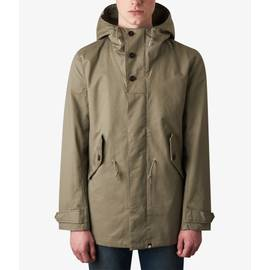 Mid Green  Hooded Parka