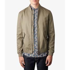 Khaki  Short Zip Through Jacket