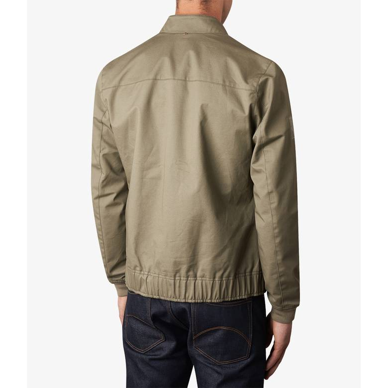 Mens Short Zip Through Jacket