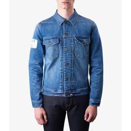 Blue  Button Up Denim Jacket