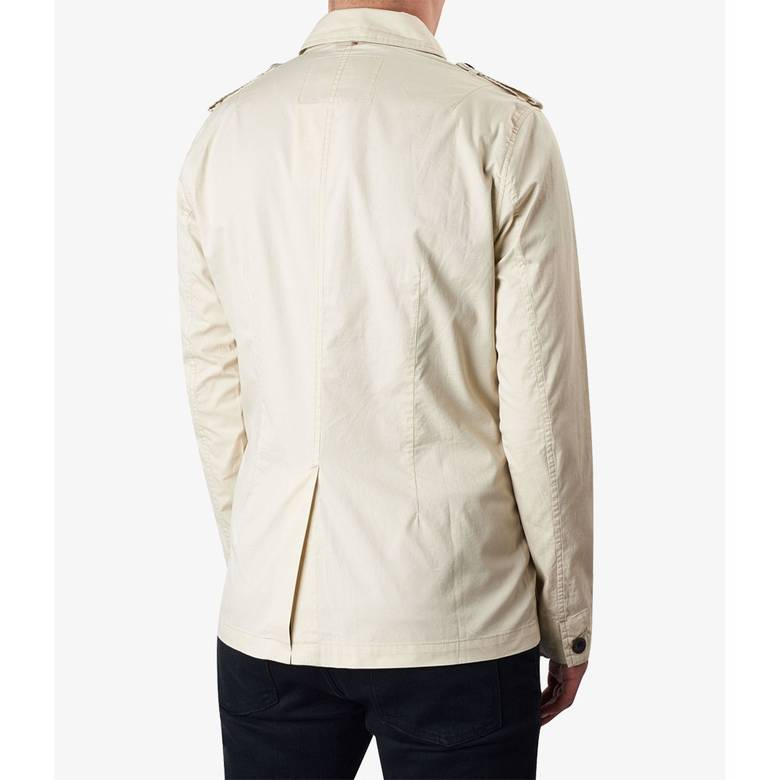 Mens Lightweight Cotton Button Up Jacket
