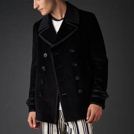 Black  Lonely Hearts Cord Jacket