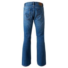 Blue  Beatles Pepper Flared Jeans