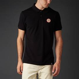 Black  Lonely Hearts Club Polo