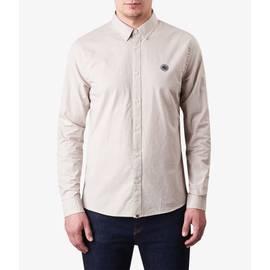Stone  Slim Fit Nep Fleck Shirt