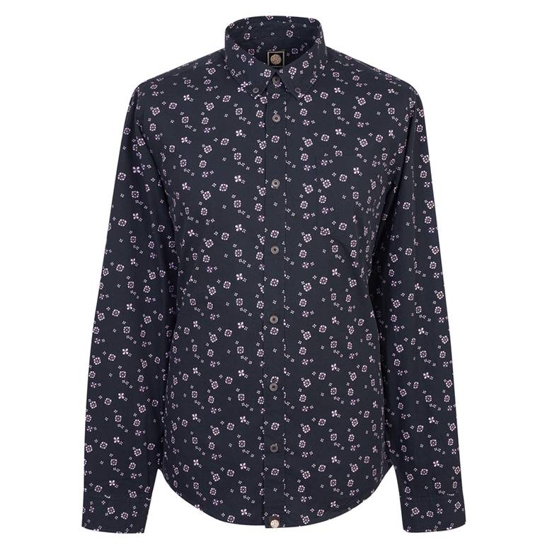 Mens Slim Fit Floral Print Shirt