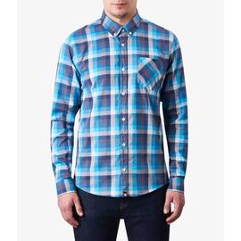 White  Slim Fit Check Shirt
