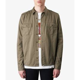 Khaki  Slim Fit Overshirt