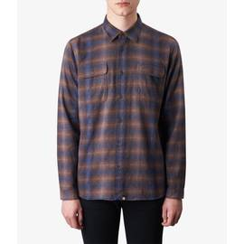 Brown  Classic Fit Check Shirt