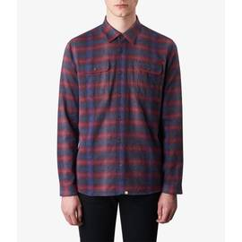 Red  Classic Fit Check Shirt