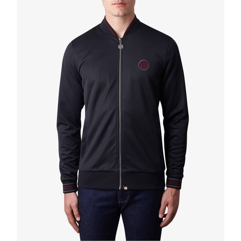 Mens Contrast Tipped Track Top