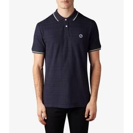 Dark Navy  Tipped Polo Shirt