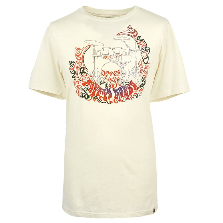 Mens Drum Print T-Shirt