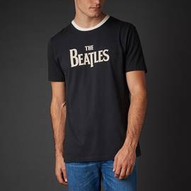Black  The Beatles T-Shirt