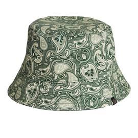 Green Paisley Print Bucket Hat b86e480e4b4