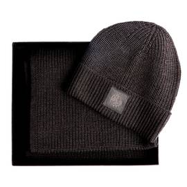 1b66261b623 Grey Beanie And Scarf Gift Set