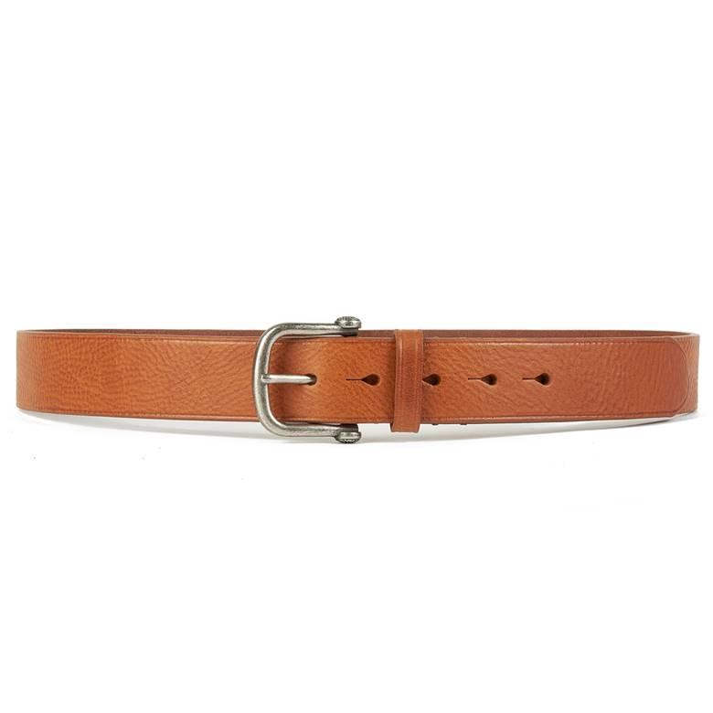 Mens Single Prong Leather Belt