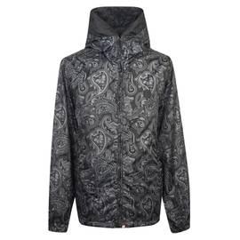 Black Paisley Print Hooded Jacket e652506a1