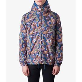 Vintage Paisley  Paisley  Print Hooded Jacket