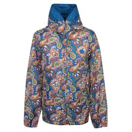 95424260f15 Vintage Paisley Print Hooded Jacket