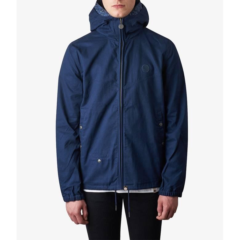 Mens Cotton Zip Up Hooded Jacket