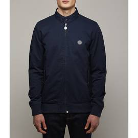 Navy  Cotton Harrington Jacket