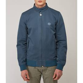 Teal  Cotton Harrington Jacket