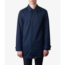 Navy  Button Up Mac