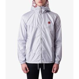 Light Grey  Lightweight Zip Up Hooded Jacket