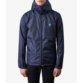 Navy  Lightweight Zip Up Hooded Jacket