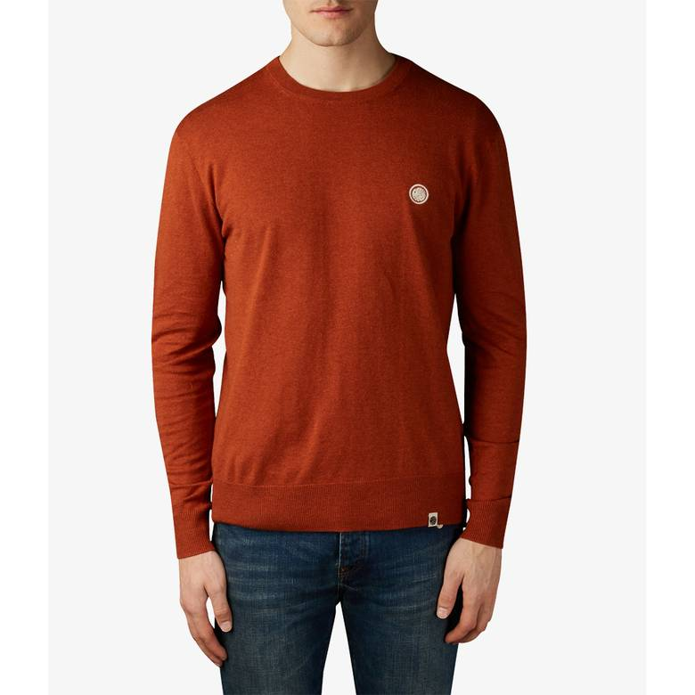 Mens Crew Neck Knitted Jumper