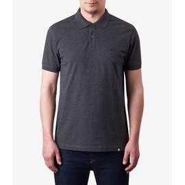 Dark Grey Marl  Pique Polo Shirt