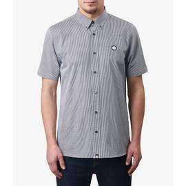Navy Short Sleeve Glendale Gingham Shirt