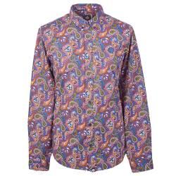 Vintage Paisley  Slim Fit Paisley Print Shirt